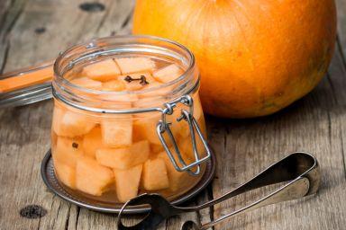 Dynia w occie jabłkowym na zimę