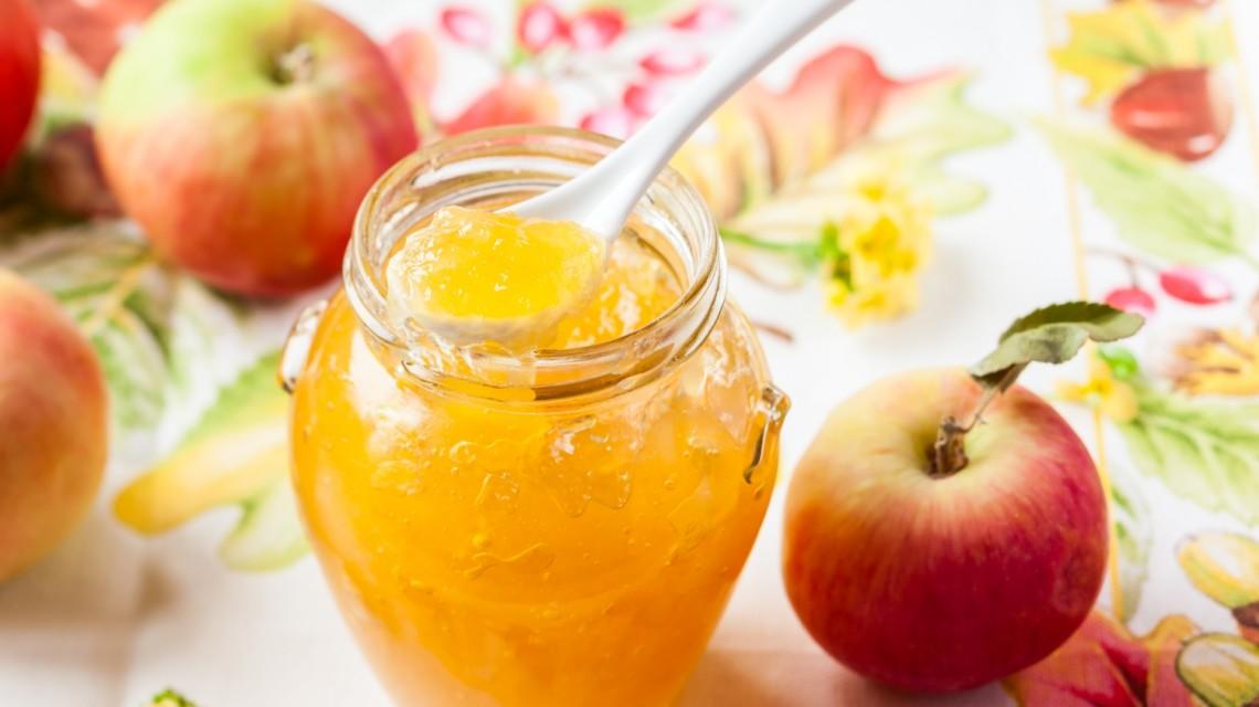 Przetwory z jabłek: dżem z jabłek bez cukru