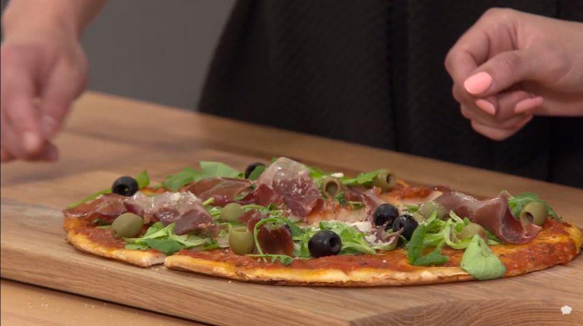 Pizza wg przepisu Emilii Cieślakowskiej