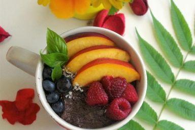 Mus kakaowo-śliwkowy