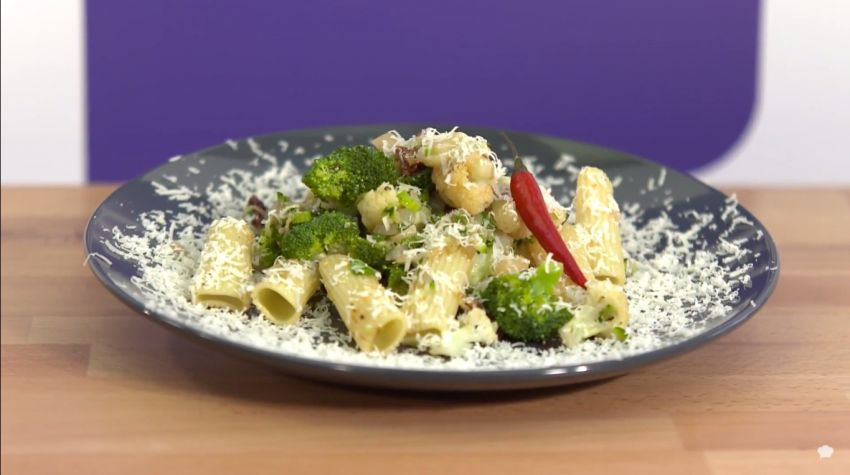 Rigatoni z podsmażonymi warzywami z nutą wędzonej papryki Moniki Lemko