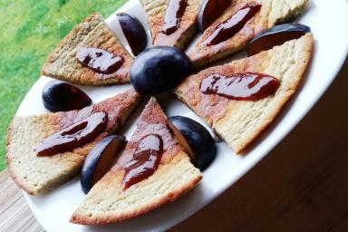 Omlet Bananowo-Kokosowy