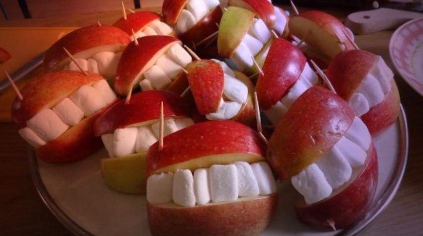 Uśmiechnięte jabłko