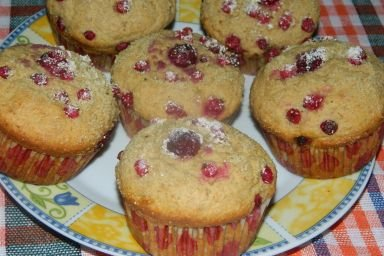 Zdrowe muffinki z otrębami owsianymi