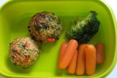 Kotlety z warzywami