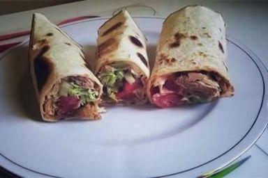 Domowy mini kebab