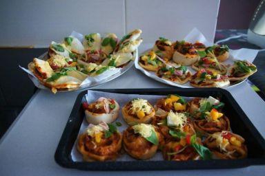 Zdrowe bezglutenowe mini pizze ryżowe