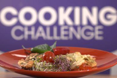 Grillowane warzywa w cieście z sosem miodowym od Agnieszki Kaczorowskiej