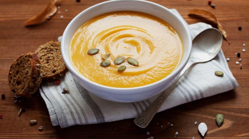Aromatyczna zupa krem z dyni