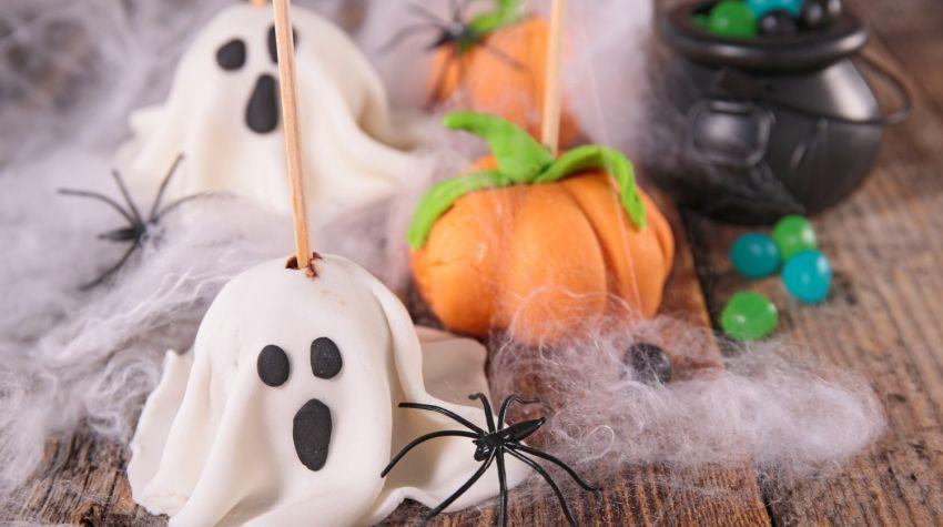 Dyniowe kulki na Halloween