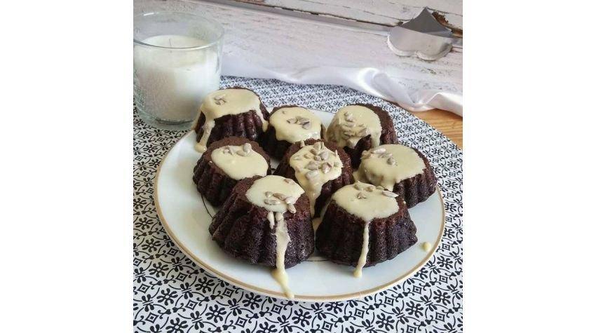 Buraczkowe muffinki