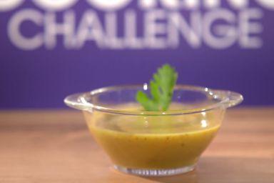 Zupa krem z soczewicy Agnieszki Bińczyckiej