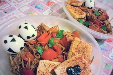 Bento, czyli japońskie śniadanie w pudełku :)