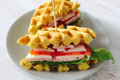 Gofrowy Sandwich.