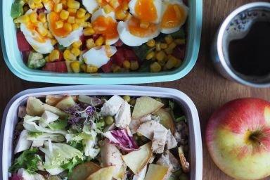 Sałatka - lunch box