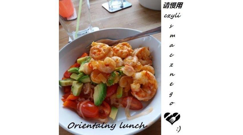 Lunch w orientalnym stylu