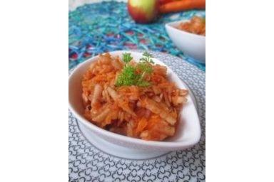 Sałatka z marchewki i jabłka