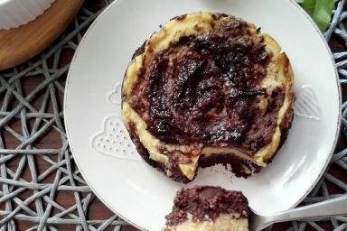 Jednoporcjowe ciasto dyniowe