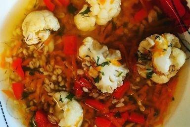 Zupa kalafiorowa inaczej