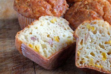 Żółte muffinki
