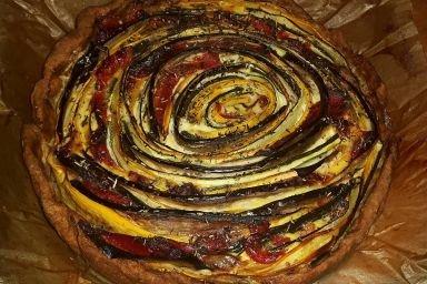 Rustykalna tarta warzywna