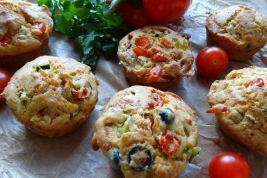 Warzywne Muffinki