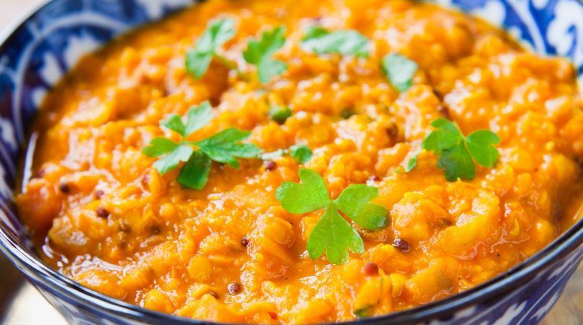 Curry warzywne z soczewicy
