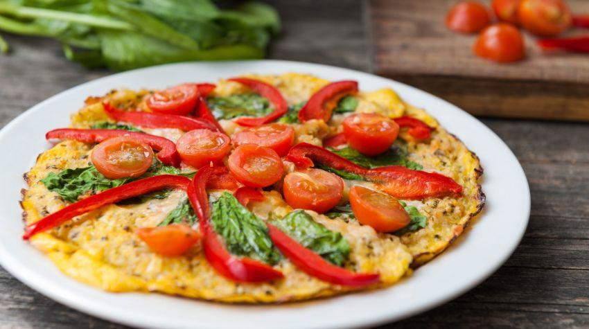 Przekąski na Sylwestra: fit pizza