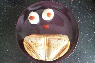 jajeczniczka z piekarniczka