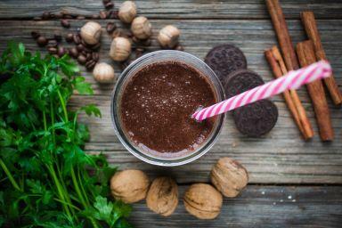 FIT DESER: Kakao ze śliwkami i pomarańczą