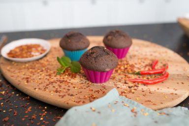 Czekoladowe muffiny - łez wyciskacze