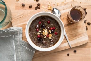 Pyszny krem z ziaren kawy