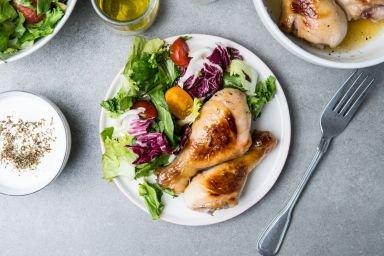 Udka kurczaka w miodzie