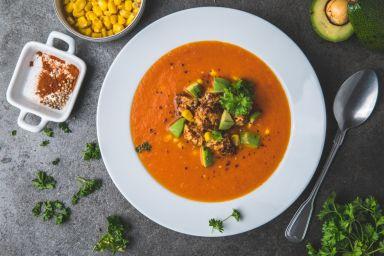 Meksykańska zupa z kurczakiem