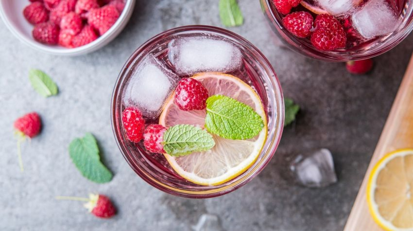 Lemoniada malinowa