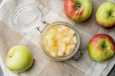 Konfitura z jabłek na zimę