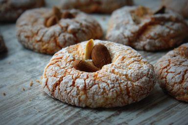Sycylijskie migdałowe ciasteczka- biscotti di mandorla