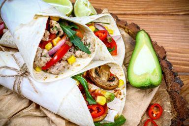Tortilla domowa – placki i farsz
