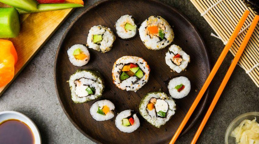 Wegetariańskie sushi