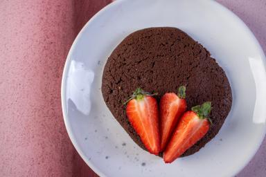 Ciasteczka czekoladowo-kawowe na fusach