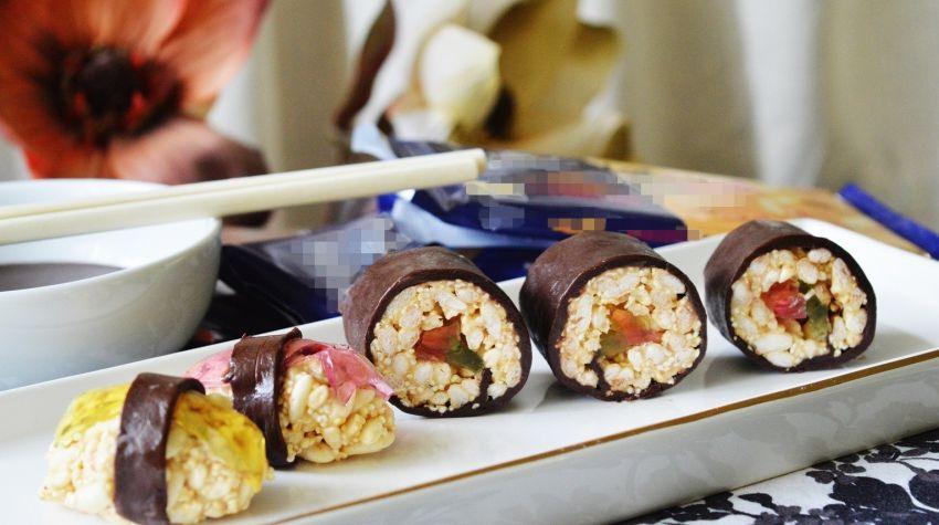 Czekoladowe sushi