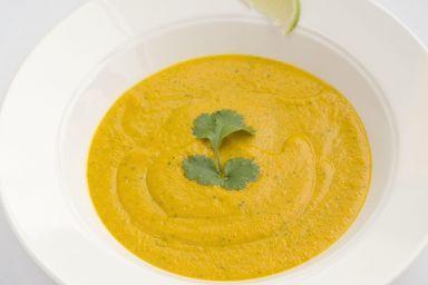 Zupa marchewkowa o orientalnej nucie