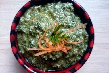 Pesto z marchewki i orzechów macadamia