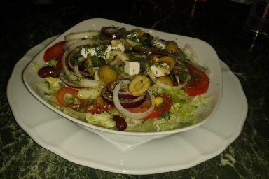 Sałatka z kasztanów