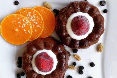 Bananowo-gryczane muffiny