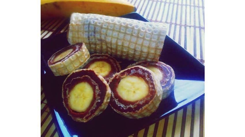 Rolada bananowa