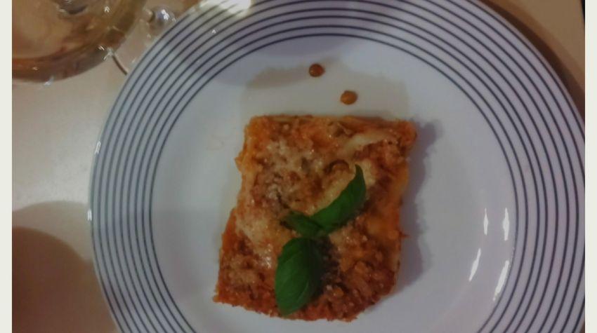 Wegetariańska lasagne z soczewicą