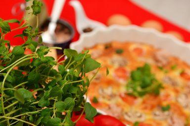 Fritatta z tuńczykiem i warzywami
