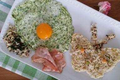 Zabawa z ryżem, komosą ryżową i kaszami