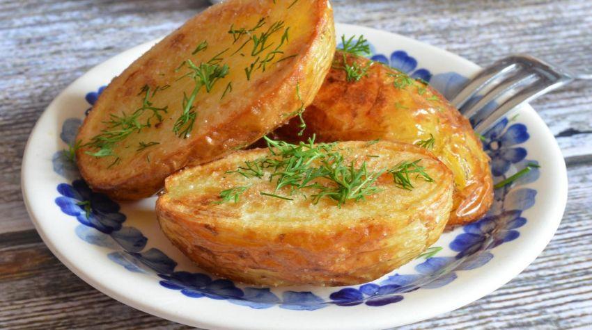 Ziemniaki pieczone z rozmarynem